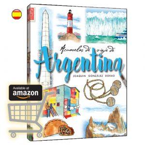 Argentina acuarelas de viaje libro