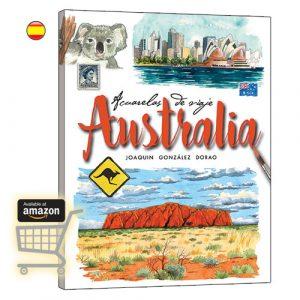 Australia acuarelas de viaje libro