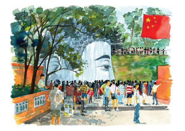 China libros de viajes