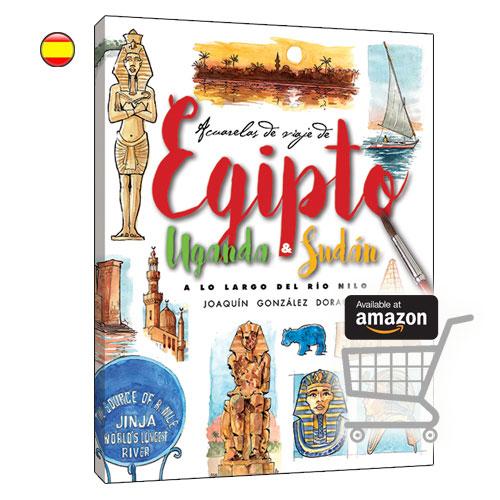 Egipto acuarelas de viaje libro