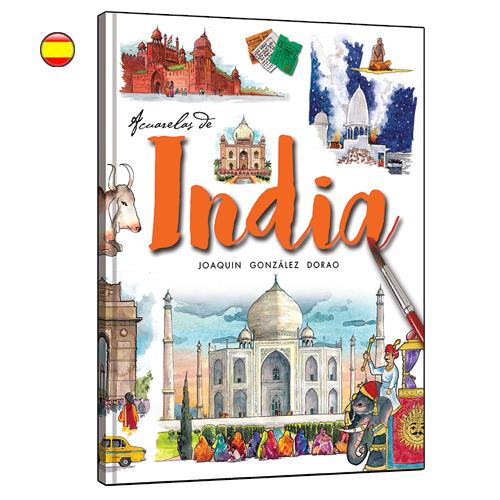 India acuarelas de viaje libro