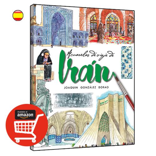 Iran acuarelas de viaje libro