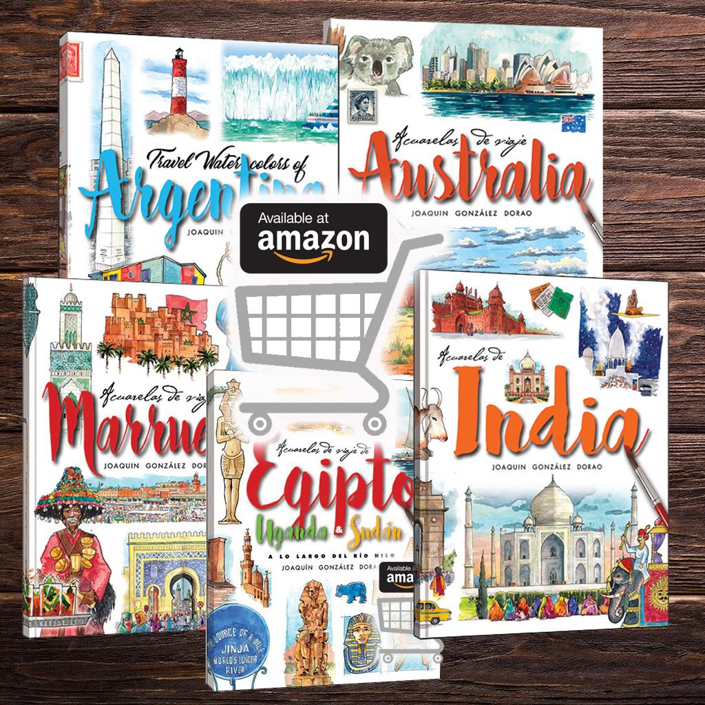 Cuadernos de viaje libros