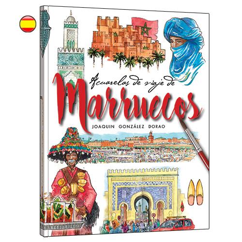 Marruecos acuarelade viaje libro