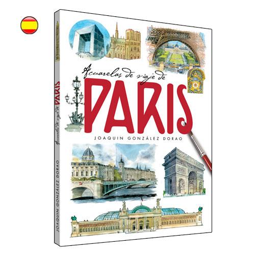 Paris acuarelas de viaje libro