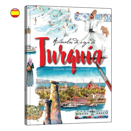 Turquia acuarelas de viaje libro