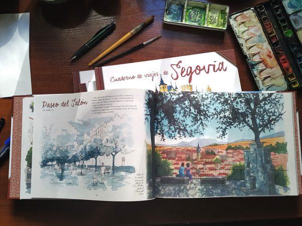 Segovia cuaderno de viajes