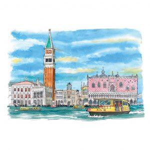 Venecia acuarela