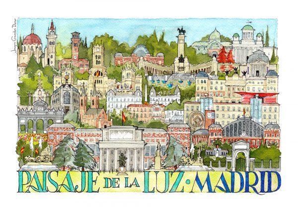 Paisaje de la Luz Madrid